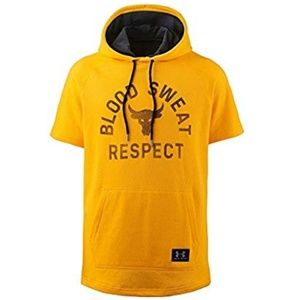 Under Armour: Project Rock Short Sleeve Hoodie